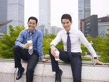 Aziatisch zakenlui Stock Foto