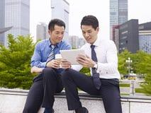 Aziatisch zakenlui Royalty-vrije Stock Afbeelding