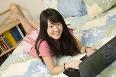 Aziatische Amerikaan Royalty-vrije Stock Foto's
