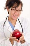 Aziatische Amerikaanse gezondheidszorgarbeider Royalty-vrije Stock Foto's