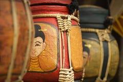 Aziatische antiquiteit verfraaide doos royalty-vrije stock foto's