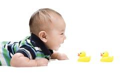 Aziatische baby Royalty-vrije Stock Afbeelding