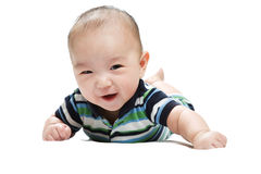 Aziatische baby Stock Afbeelding