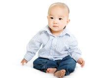 Aziatische baby stock afbeeldingen