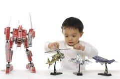 Aziatische baby Royalty-vrije Stock Fotografie