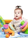 Aziatische babyjongen Stock Afbeelding