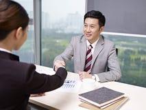 Aziatische bedrijfsmensen Royalty-vrije Stock Fotografie