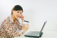 Aziatische bedrijfsvrouw stock fotografie