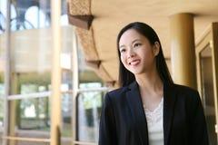 Aziatische BedrijfsVrouw Stock Foto's
