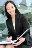 Aziatische BedrijfsVrouw Royalty-vrije Stock Fotografie