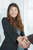Aziatische bedrijfsvrouwen Stock Afbeelding