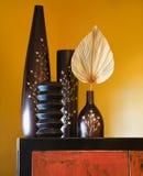 Aziatische binnenlandse stijl. Stock Foto's