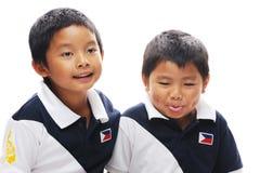Aziatische Broers Royalty-vrije Stock Afbeeldingen