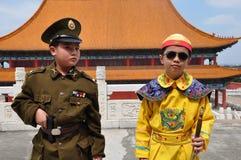 Aziatische broers royalty-vrije stock foto