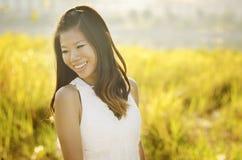 Aziatische bruid Royalty-vrije Stock Foto
