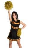 Aziatische Cheerleader Royalty-vrije Stock Afbeelding