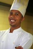 Aziatische chef-kok Stock Afbeeldingen