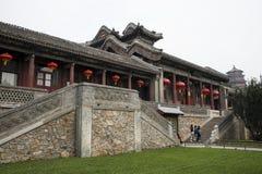 Aziatische Chinees, Peking, het de Zomerpaleis, TING LI GUAN Stock Foto