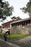 Aziatische Chinees, Peking, het de Zomerpaleis, TING LI GUAN Stock Fotografie