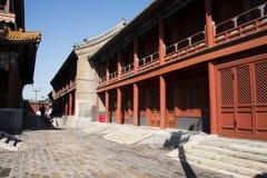 Aziatische Chinees, Peking, historische gebouwen, Lama Temple Stock Foto