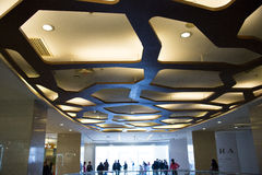 Aziatische Chinees, Peking, Joy City Shopping Plazaï ¼ ŒInterior, de winkellay-out, stock afbeeldingen