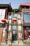 Aziatische Chinees, Peking, Shichahai, de lotusbloemmarkt Stock Afbeelding