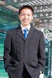 Aziatische Chinese bedrijfsmens Royalty-vrije Stock Foto