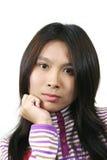 Aziatische dame 2 Stock Foto's