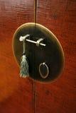 Aziatische deur Royalty-vrije Stock Foto's