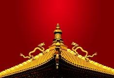 Aziatische draak Stock Afbeelding