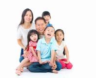 Aziatische familie Stock Fotografie