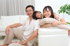 Aziatische familie Stock Foto
