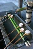 Aziatische fontein royalty-vrije stock afbeelding