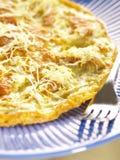 Aziatische gebraden omelet Royalty-vrije Stock Foto's