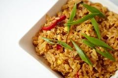 Aziatische gebraden rijst Stock Afbeeldingen