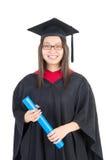 Aziatische graduatie stock afbeeldingen