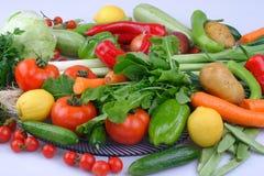 Aziatische groentenachtergrond Het gezonde Eten royalty-vrije stock afbeeldingen