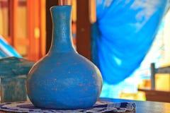 Aziatische het aardewerkcontainer van het aardewerkschip royalty-vrije stock afbeelding