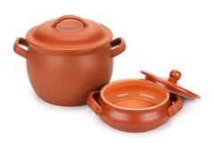 Aziatische het drinken potten Stock Afbeelding