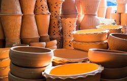 Aziatische het drinken potten Stock Foto's