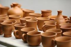 Aziatische het drinken potten Royalty-vrije Stock Foto