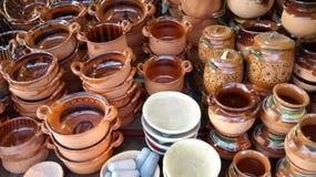 Aziatische het drinken potten Royalty-vrije Stock Afbeelding