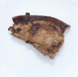 Aziatische het varkensvleesbovenkant van het straatvoedsel Stock Afbeelding