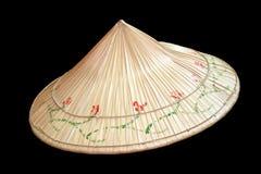 Aziatische inheemse hoed royalty-vrije stock foto