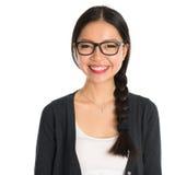 Aziatische jonge bedrijfsvrouw Stock Foto's
