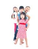 Aziatische jonge geitjes Royalty-vrije Stock Afbeelding