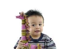 Aziatische jonge geitjes Royalty-vrije Stock Foto's