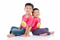 Aziatische jonge geitjes Royalty-vrije Stock Afbeeldingen