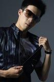 Aziatische jonge mens Royalty-vrije Stock Afbeeldingen