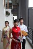 Aziatische jonge mensen royalty-vrije stock fotografie